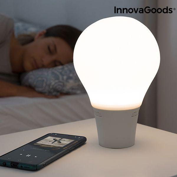 Lampada Da Tavolo A Led Con Altoparlante E Bluetooth