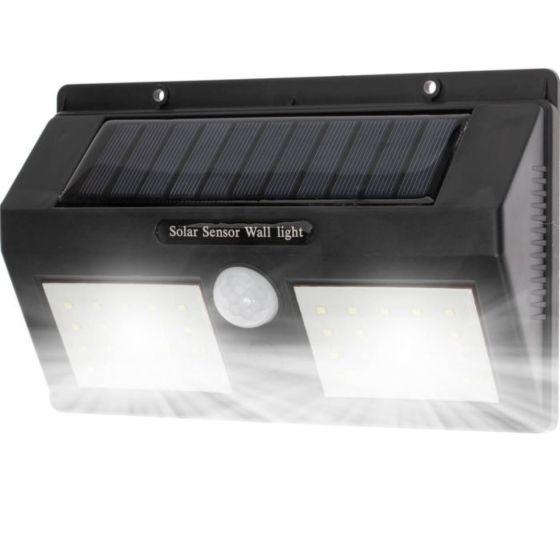 Riflettore solare a LED con sensore LED 5x 40xSMD IP65