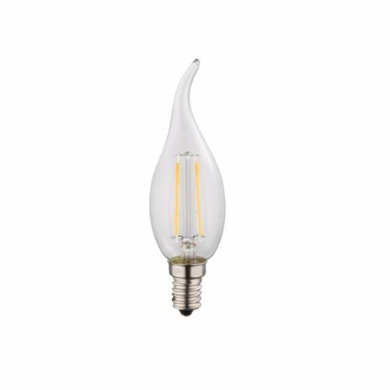 Lampadina LED E14 clear classic candle 4W 2700k/400lm Globo 10584