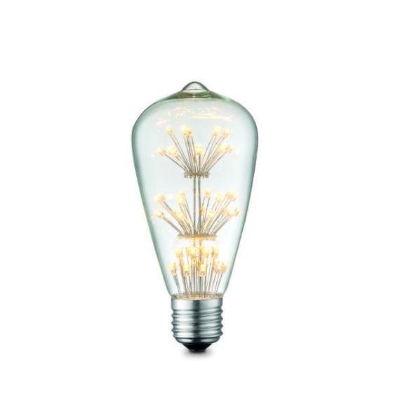 Lampadina LED E27-1.5W 2300K Globo 11502