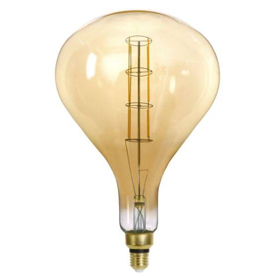 Lampadina LED amber E27 8W 2200K/800lm Globo 11532A