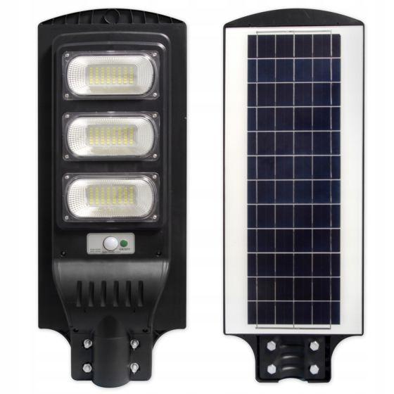 Riflettore solare a LED con sensore e telecomando VP-EL 150W IP65 6000K