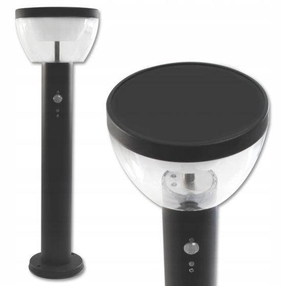 Lampada da terra per esterno a LED con sensore VP-EL MERI 9W 50 cm