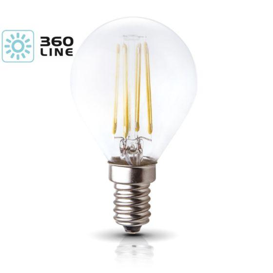 Lampadina LED K-Light E14 FDE 4W-3000K/440lm 360 Line