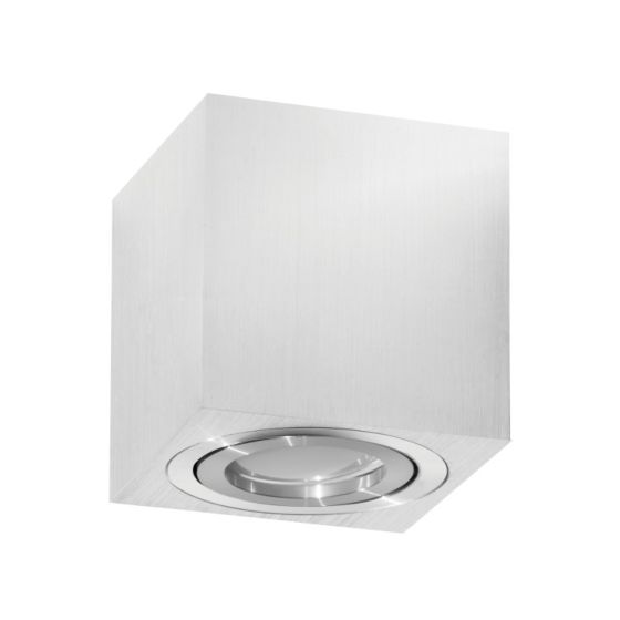 Lampada da soffitto K-Light FITT Square Small - Chrome