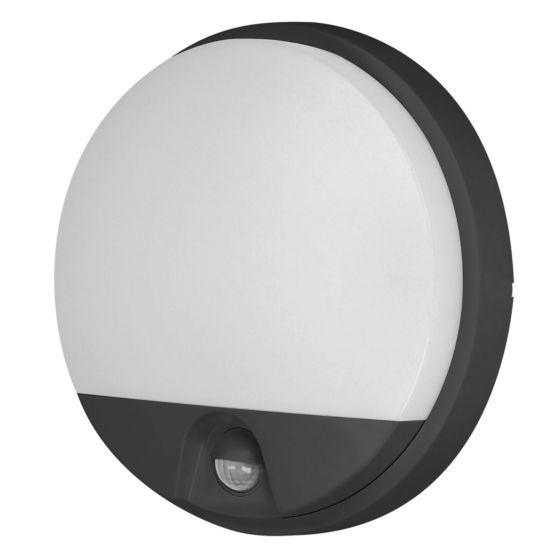 Lampada da esterno a LED con sensore OR AGAT 10W - nero
