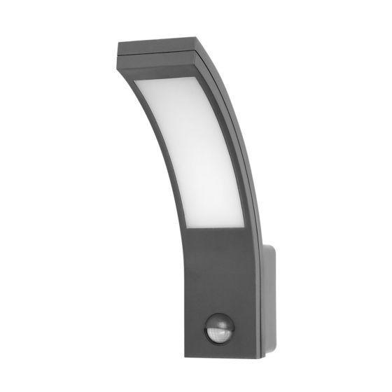 Lampada da parete per esterni a LED con sensore OR PIRYT 10W - grigio
