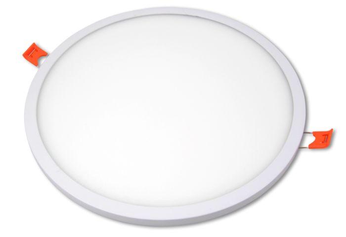 LED pannello da incasso VP-EL ORTO ROUND White 24W 4000K