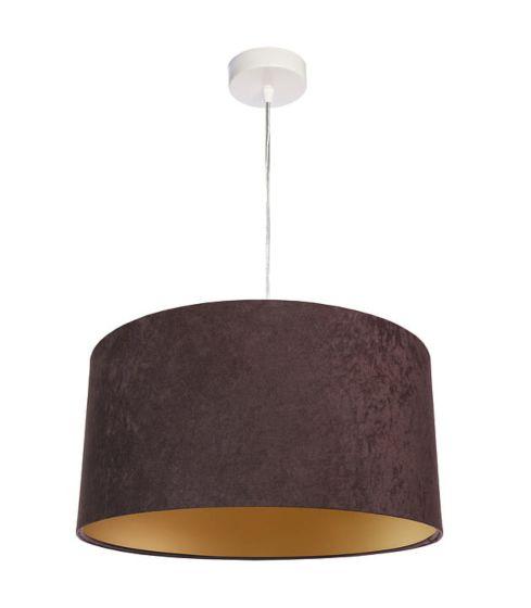 Lampada a sospensione BP-Light Dalia-brown/gold - ULTIMO PEZZO