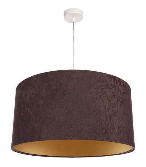 Lampada a sospensione BP-Light Dalia-brown/gold