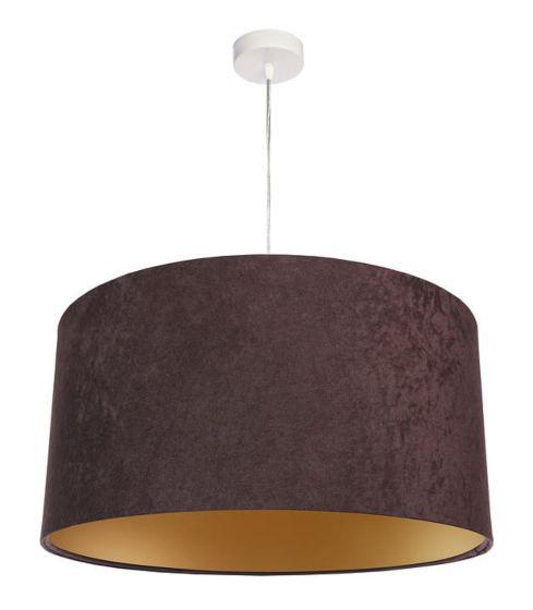 Lampada a sospensione BP-Light Dalia-brown/gold 50 cm - ULTIMO PEZZO