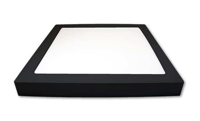 Pannello LED superficie VP-EL 24W 4000K Prime black