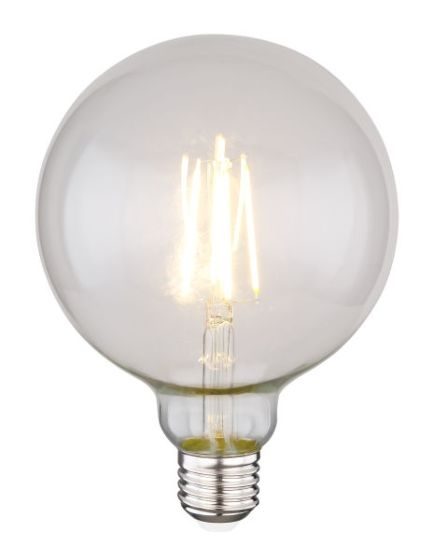 Lampadina LED globe clear E27 7W 2700K/700lm Globo 11527D
