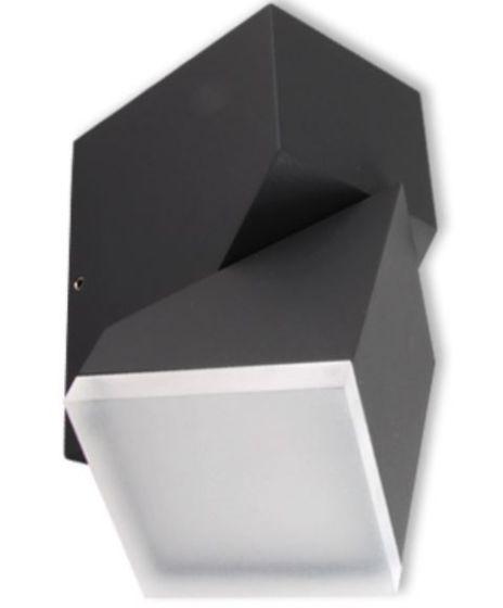 Lampada da parete per esterno a LED VP-EL WINDA 7.5W GRIGIO