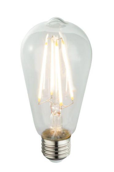 Lampadina LED E27 clear 6W 3000k/580lm Globo 11399