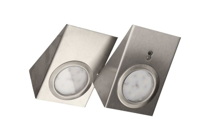 LED Lampada Sottopensile OR TOUCHLESS SWITCH INOX 2,5W