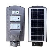 Riflettore solare a LED con telecomando VP-EL 40W / 6000K IP65