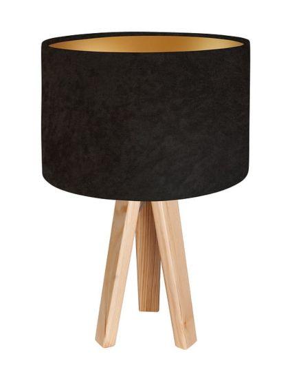 Lampada da tavolo BP-Light Dalia gold - pine