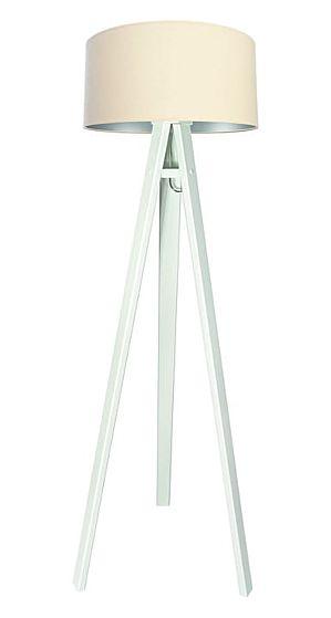Lampada da terra Verbena silver - white