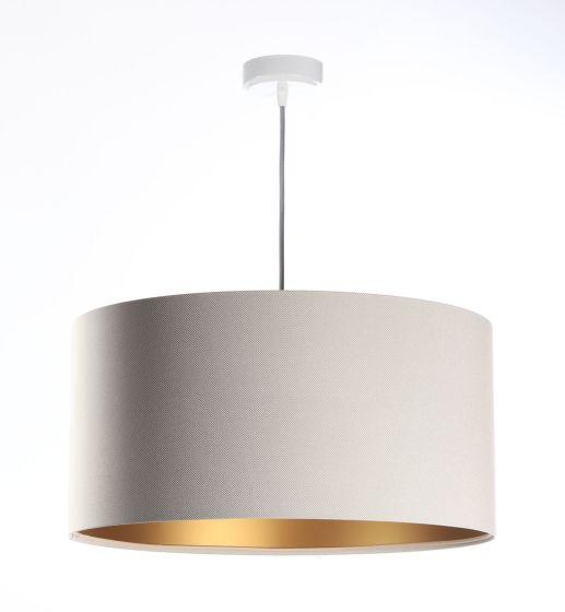 Lampada a sospensione  BP-Light DAMINIA CREAM GOLD 059