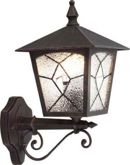 Lampada da parete per esterno ATLANTA Globo 3126