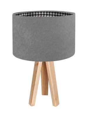 Lampada da tavolo BP-Light Pepitka grey - pine