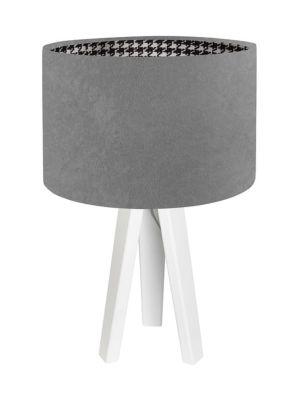 Lampada da tavolo BP-Light Pepitka grey - white