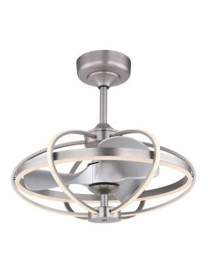 Ventilatore a soffitto con lampada a LED Globo SIMONA 03613