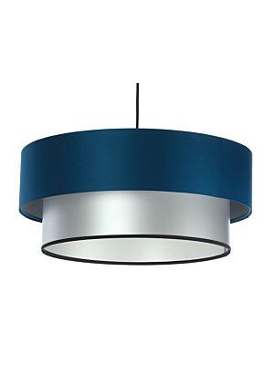 Lampada a sospensione BP-Light DUO Navy blue/silver 40