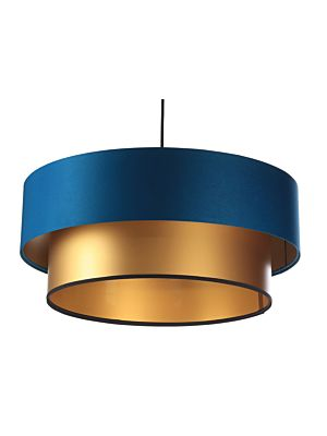 Lampada a sospensione BP-Light DUO Navy blue/gold 40