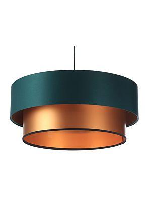 Lampada a sospensione BP-Light DUO Green/copper 60