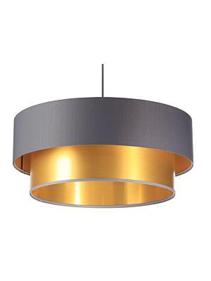 Lampada a sospensione BP-Light DUO Gray/gold 60