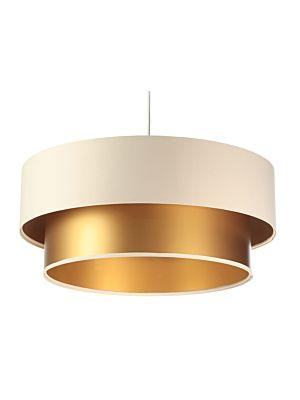 Lampada a sospensione BP-Light DUO Creamy/gold 40