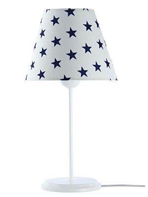 Lampada da tavolo BP-Light Abella White/blue