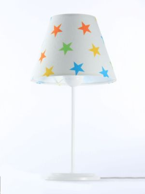 Lampada da tavolo BP-Light Binitia Multi/stars/white