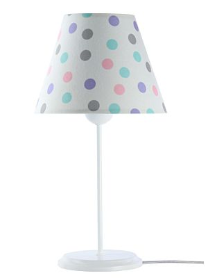 Lampada da tavolo BP-Light Bella Multi/dots/white