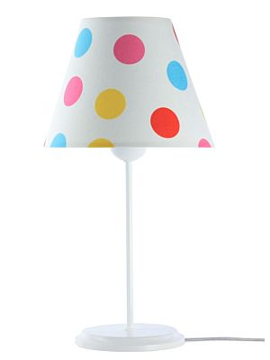 Lampada da tavolo BP-Light Merida Multi/dots/white
