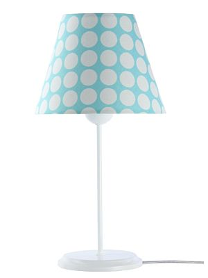 Lampada da tavolo BP-Light Blanka Blue/dots/white