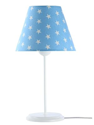 Lampada da tavolo BP-Light Laura Blue/stars/white