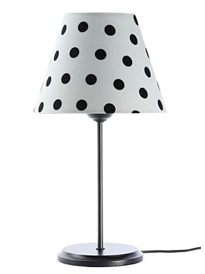 Lampada da tavolo BP-Light Polka Multi/dots/black