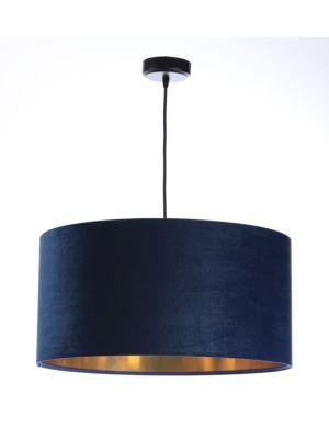 Lampada a sospensione  BP-Light OLENA NAVY BLUE VELVET 031