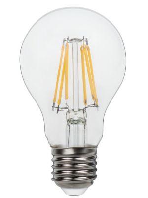 Lampadina LED E27 Clear 6W 3000k 800lm Globo 10582-2K di due luci