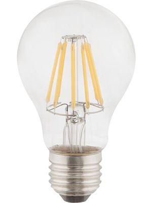 Lampadina LED E27 clear 6W 2700k/806lm Globo 10582