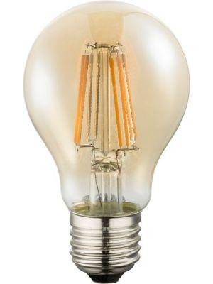 Lampadina LED E27 amber 8W 2200k/630lm Globo 10582A