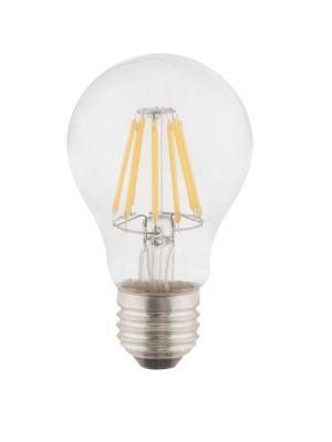 Lampadina LED E27 clear 6W 2700k/806lm Globo 10582K