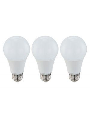 Lampadina LED E27-9W 3000K Globo 10625-3 di tre luci