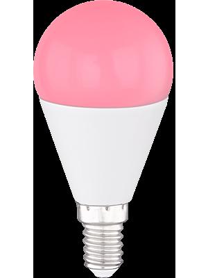 Lampadina a LED con telecomando E14 RGB ILLU 4W 300lm Globo 106750SH