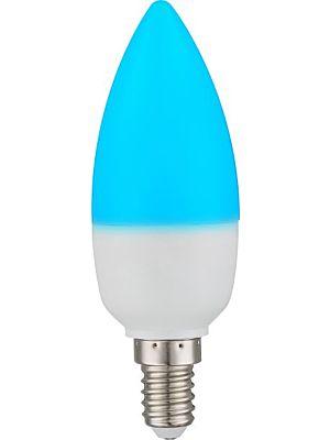 Lampadina a LED con telecomando E14 Candela RGB 4W 300lm - Globo 106754SH