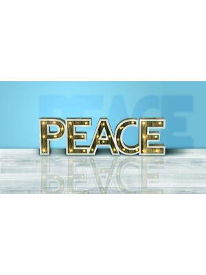 Led illuminazione decorativa Globo PEACE 29977