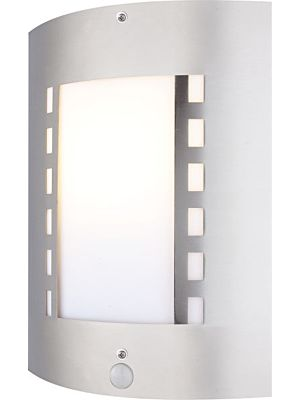Lampada da parete per esterno con sensore ORLANDO Globo 3156S